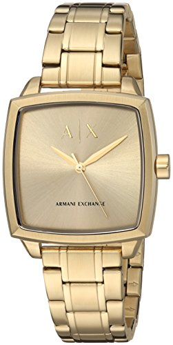 Armani Exchange Women's Gold Stainless Steel Watch AX5452