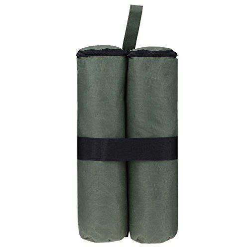 違うスリップ鋭くk-outdoor テント用重り ウエイトバッグ テント固定用 タープ用 固定バンド付き ネオプレン 重し 防水 170g