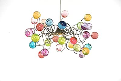 Chandeliers Pastel Colored Bubbles Lamp Shade - Ceiling Light fixtures for Girls Bedroom, Living Room - and Bathroom lighting Unique Decorations for Home & Kitchen - Gift Ideas
