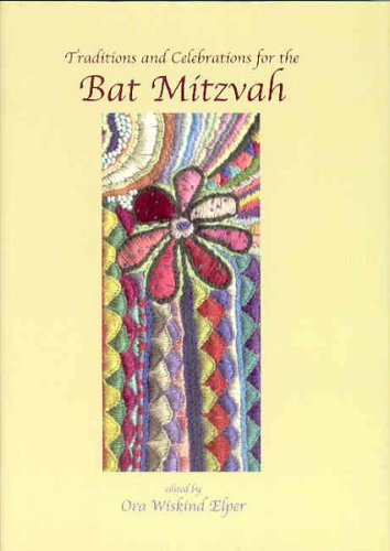 Download Traditions and Celebrations for the Bat Mitzvah pdf epub