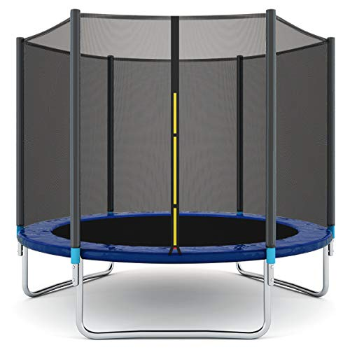 Giantex Trampoline Combo Bounce Jump Safety Enclosure Net W/Spring Pad Ladder (8 FT)