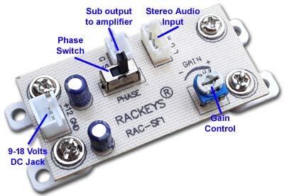 Salcon Electronics Mono 4440 IC DIY Audio Boards 40 W Amplifier Kit