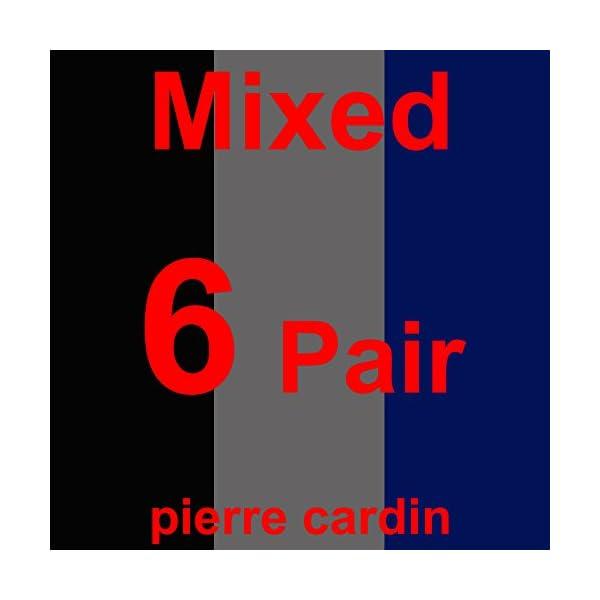 Pierre Cardin? 6 paia di calze da uomo – nero e colorate