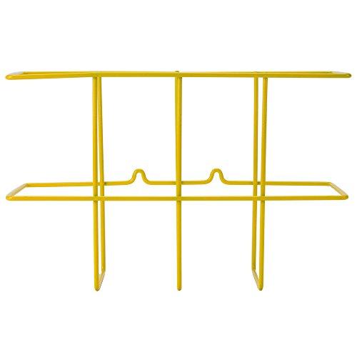 Ring Binder Rack - Wire Wall Mount 3 Ring Binder Rack By TableTop King