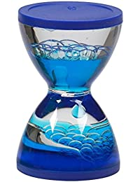 Buy 1 Mini Hourglass Sensory Visual Stimulation Special Needs Autism Stress Relief (blue) opportunity