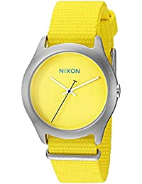 Womens A348-1599-00 Mod Analog Display Japanese Quartz Yellow Watch