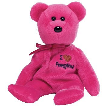 7b9c47012b7 Image Unavailable. Image not available for. Color  TY Beanie Baby -  PENNSYLVANIA the Bear (I Love Pennsylvania - State Exclusive)