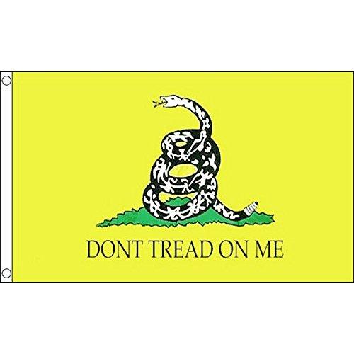 AZ FLAG GADSDEN DONT TREAD ON ME FLAG 3' x 5' - DON'T TREAD