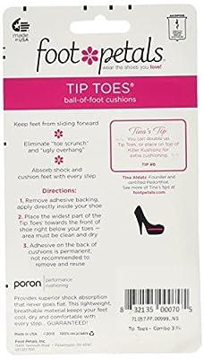 Foot Petals Tip Toes Combo Pack 6 piece