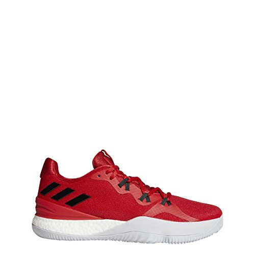 bd9875e4deb Amazon.com  adidas Men s Crazy Light Boost 2018 Basketball CoreBlack White Carbon   Shoes