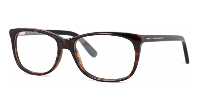 342d0f573b Amazon.com  Marc By Marc Jacob MMJ 613 Eyeglasses 0kvx Dark Havana Black  52mm  Clothing