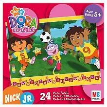 [Dora the Explorer 24-Piece Puzzle] (Dora Diego And Boots)