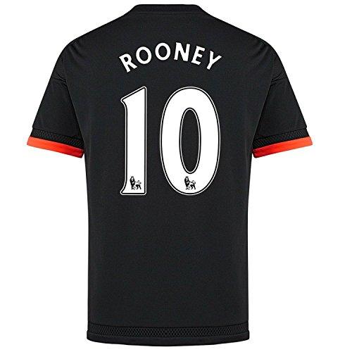 コンペようこそ菊Adidas Rooney #10 Manchester United Third Soccer Jersey 2015(Authentic name and number of player)/サッカーユニフォーム マンチェスター ユナイテッド FC Third用 ルーニー 背番号10 2015