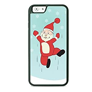 Case Fun Case Fun Christmas Jumping Santa TPU Rubber Back Case Cover for Apple iPhone 6 4.7 inch
