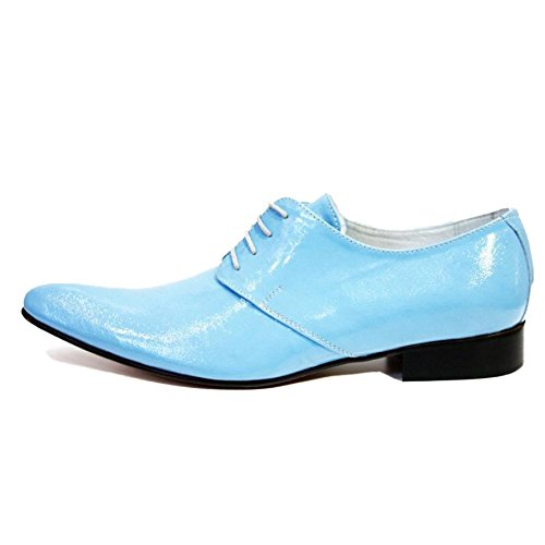 Modello Catanzarol - Handmade Colorful italiennes Chaussures en cuir Oxfords Casual Souliers de Formal Prime Unique Vintage Gift Lace Up Robe Hommes