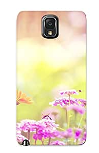 Kathewade New Arrival Galaxy Note 3 Case Bumble Bee And Flowers Case Cover/ Perfect Design