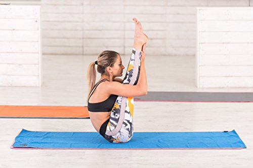 Microfiber Yoga Towel Non Slip Sweat Absorbent Improves
