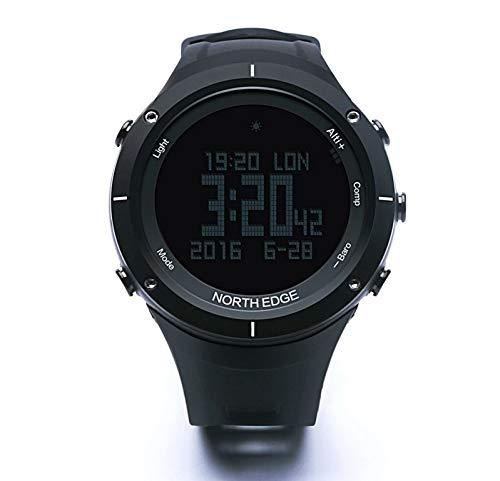 Chennong スポーツスマートウォッチ多機能ステップ防水ウォッチ (Color : ブラック)  ブラック B07Q82Z3ZC