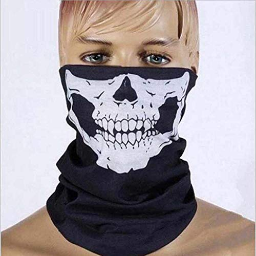 Che-good Mask N95 - Halloween Mask Sexy Scary Skull Horror Skeleton Ghost Motorcycle Bicycle Scarf Cap Festive Party - Valve P100 Reusable Baby Pack Medical Delivery N100 Face Dust -