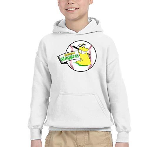 Slugger Pullover Hood - Hanfjj Kefdk Banana Sluggers Cute Boy's Hoodies Pullover Sweatshirts for 2-6T Child