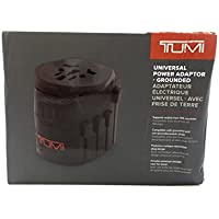 TUMI Universal Power Adaptor (Grounded) - Black