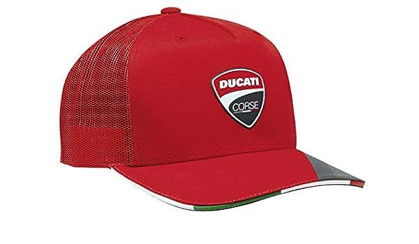 Ducati Corse Moto GP Team Racing Logo Official Adjustable Hat Baseball Cap Red