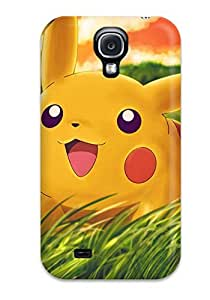 High Grade Hotlove Flexible Tpu Case For Galaxy S4 - Pikachu
