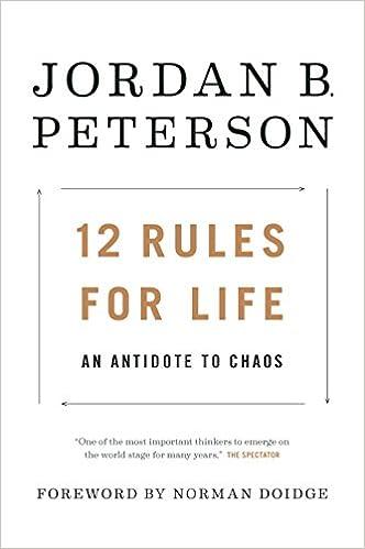 An Antidote to Chaos - Jordan Peterson