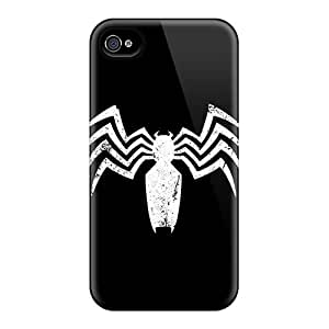 JeffMclaren Snap On Hard Case Cover Venom Logo Protector For Iphone 4/4s