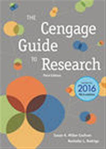 The Cengage Guide to Research, 2016 MLA Update (MindTap Course List)