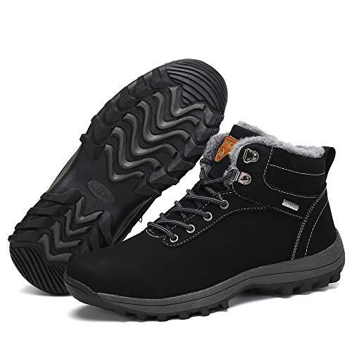 Trekking Pelliccia Impermeabili Stivali Uomo Donna Scarpe Pastaza Nero Sneakers Neve Da Inverno Outdoor 8Xwqv