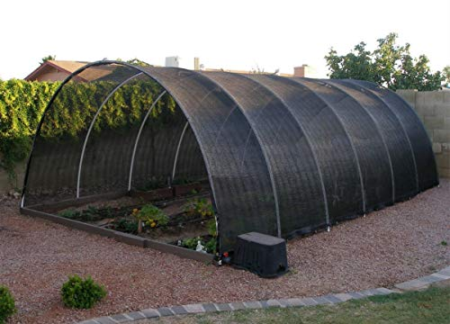 Agfabric 60% Greenhouse Shade Cloth Cover with Grommets 8' X 12', Black by Agfabric (Image #3)