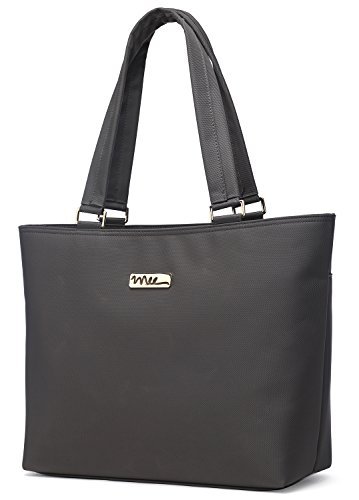 "Price comparison product image NNEE 12 12.3 Inch Water Resistance Nylon Laptop Tote Bag Fits up to 12.9"" iPad Pro,  12.3"" Surface Pro - Gray"