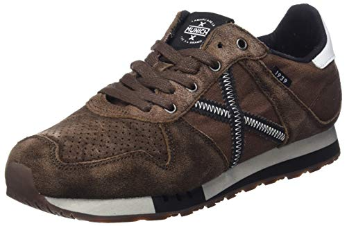 MUNICH Unisex Adults' Massana Low-Top Sneakers, Brown (Marron 293), 8 UK