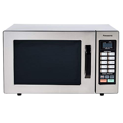 Panasonic - 2.2 Cu. Ft. Full-size Microwave - Black