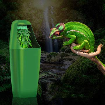 Reptile Drinking Water Filter Fountain Feeding Chameleon Lizard Dispenser Terrarium 220-240V AC - Hardware & Accessories Industrial Hardware - 1 X Reptile Drinking Water Fountain, 1 X Power Cable