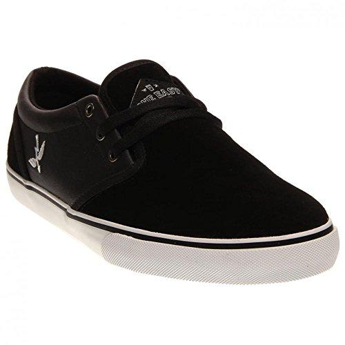 Fallen Men's The Easy Skateboard Shoe, Black/Saint Archer, 8 M US
