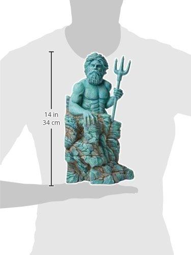 Hydor H2show Atlantis Left Poseidon Decoration 13 8 Quot X
