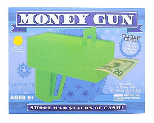 Electric Money Gun - Shoot Mad Stacks of Cash
