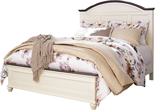 White Queen Panel Bed - 7