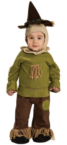 [Wizard Of Oz Scarecrow Romper Costume, 6-12 Months] (Male Scarecrow Costume)