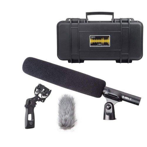 Deity S-Mic 2 Location Kit Condenser Shotgun Microphone Broadcast Quality