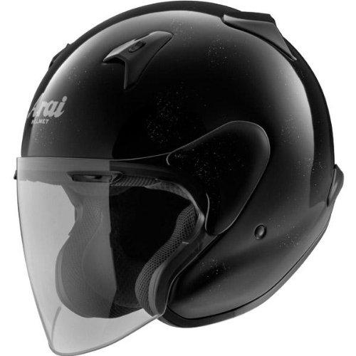 Arai Helmets XC Solid Helmet , Size: XS, Primary Color: Black, Distinct Name: Diamond Black, Helmet Category: Street, Helmet Type: Open-face Helmets, Gender: Mens/Unisex 819010