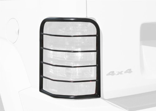 Steelcraft 32170 Black Tail Light Guard for Jeep Liberty