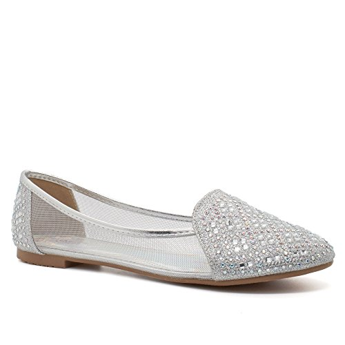 Silver London Footwear Footwear Ballet donna London xPBw8qPZ