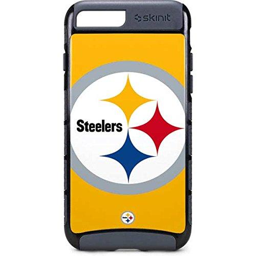 buy online bf6ab c70c7 Amazon.com: Skinit NFL Pittsburgh Steelers iPhone 8 Plus Cargo Case ...