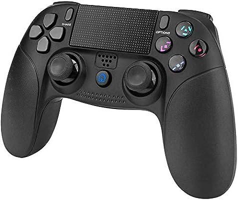 Mando de Juego para PS4, PowerLead Wireless Gamepad para ...