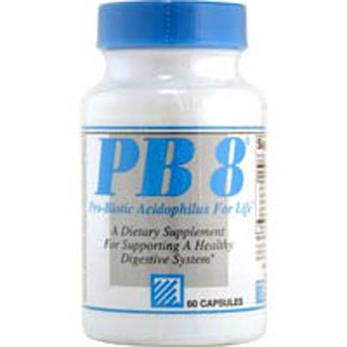 (Nutrition Now - PB 8 Pro-Biotic Acidophilus - 120 Capsules (pack of 2))