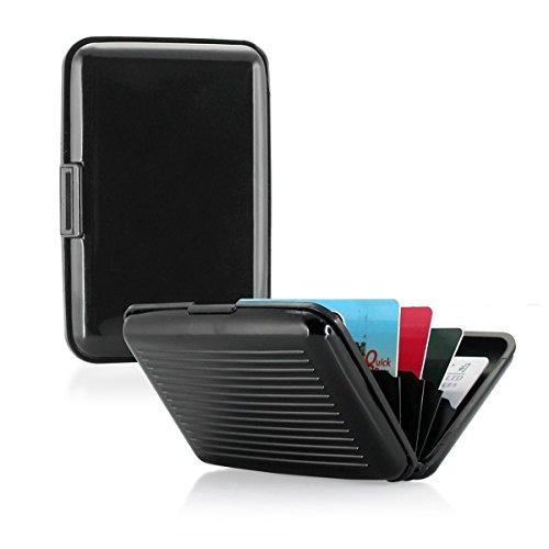 Pocket Waterproof Business ID Credit Card Wallet Holder Box Case - 4