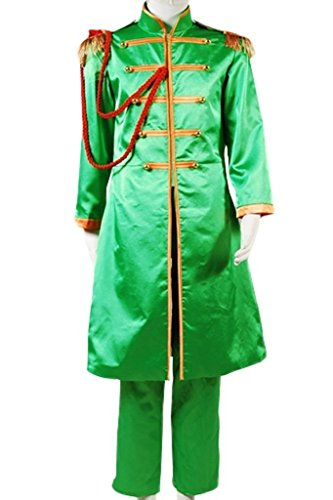 [The Beatles Costume Sgt. Pepper's Lonely Hearts Club Band Cosplay Outfit Suit Jacket] (Sgt Pepper Paul Costume)